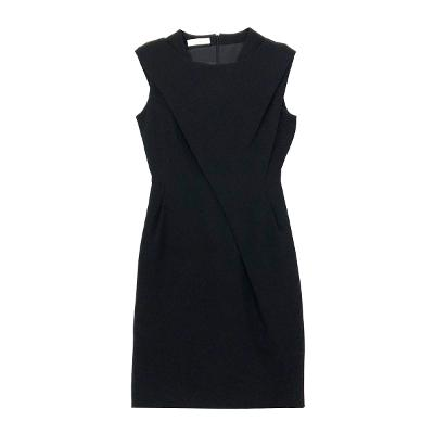 basic sleeveless dress black